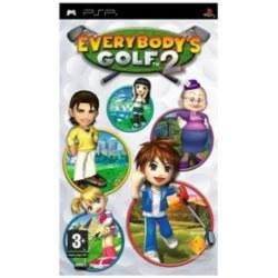 Everybodys Golf 2 PSP