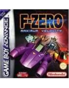 F Zero Maximum Velocity Gameboy Advance