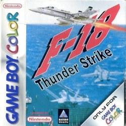 F18 Thunder Strike Gameboy