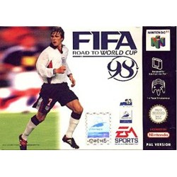 FIFA:Road to the World Cup 98 N64