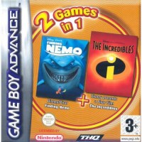 Finding Nemo & The Incredibles Double Pack Gameboy Advance