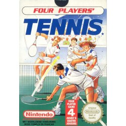 Four Player Tennis NES