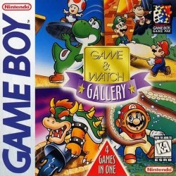 Game & Watch Gallery  4 Games in 1 Gameboy