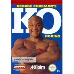 George Foremans KO Boxing NES