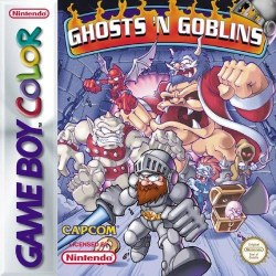 Ghosts 'n Goblins Gameboy