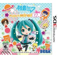 Hatsune Miku Project Mirai DX Without AR Cards 3DS