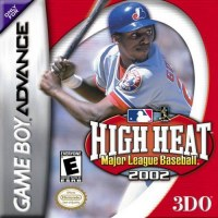 High Heat Major League Baseball 2002 Gameboy Advance