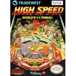 High Speed Pinball NES