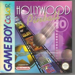 Hollywood Pinball Gameboy