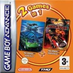 Hot Wheels Velocity X & Hot Wheels World Race Gameboy Advance