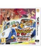 Inazuma Eleven Go Chrono Stones Wildfire 3DS