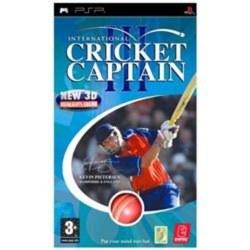 International Cricket Captain III PSP