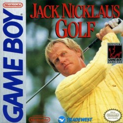 Jack Nicklaus Golf Gameboy
