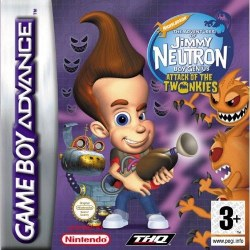 Jimmy Neutron Attack of the Twonkies Gameboy Advance