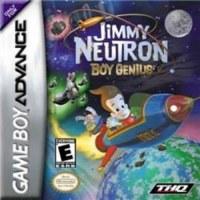 Jimmy Neutron Boy Genius Gameboy Advance