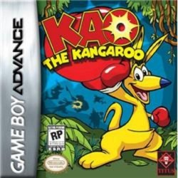 Kao the Kangaroo Gameboy Advance