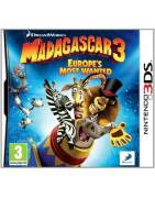 Madagascar 3 Europes Most Wanted 3DS