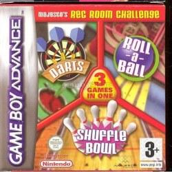 Majescos Rec Room Challenge Gameboy Advance