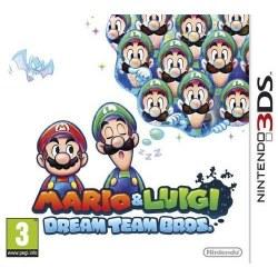 Mario and Luigi Dream Team 3DS