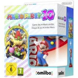 Mario Party 10 with Mario amiibo Wii U