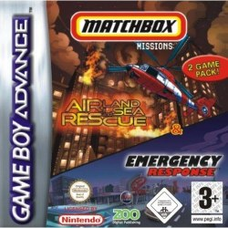 Matchbox Missions Air Land and Sea Rescue & Emergency Respo Gameboy Advance