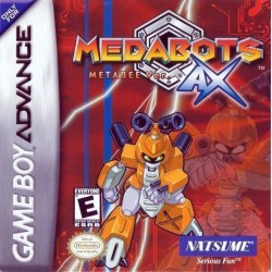 Medabots Ax Rokusho Version Blue Gameboy Advance