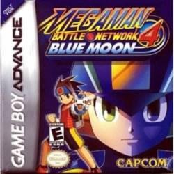 Megaman Battle Network 4 Blue Moon Gameboy Advance