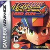 Megaman Battle Network 4 Red Sun Gameboy Advance