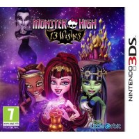 Monster High 13 Wishes The Game 3DS