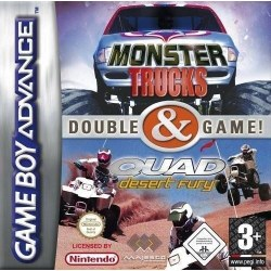 Monster Trucks/Quad Desert Fury Gameboy Advance