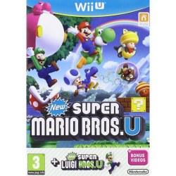 New Super Mario Bros + New Super Luigi U Wii U