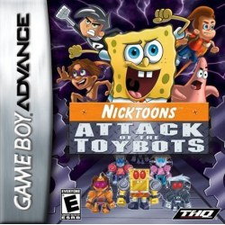 NickToons Attack of the Toybots Gameboy Advance
