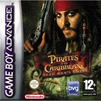 Pirates of the Caribbean Dead Mans Chest Gameboy Advance