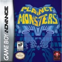 Planet Monsters Gameboy Advance