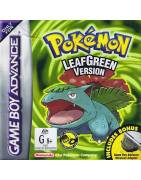 Pokemon Leaf Green  - Without Adaptor Gameboy Advance
