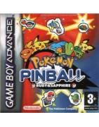 Pokemon Pinball: Ruby & Sapphire Gameboy Advance
