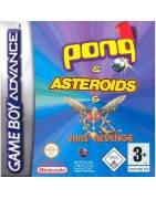 Pong + Asteroids + Yars Revenge Gameboy Advance