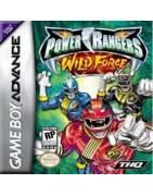 Power Rangers Wild Force Gameboy Advance
