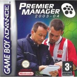 Premier Manager 2003 - 2004 Gameboy Advance