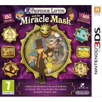 Professor Layton & The Mask of Miracle 3DS