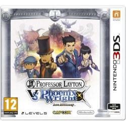 Professor Layton vs Phoenix Wright Ace Attorney 3DS