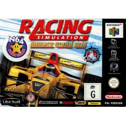Racing Simulation - Monaco Grand Prix N64