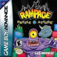 Rampage Puzzle Attack Gameboy Advance