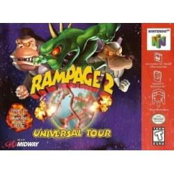Rampage World Tour 2  Universal Tour N64