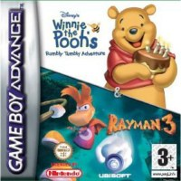 Rayman & Winnie the Pooh Rumbly Tumbly Double Pack Gameboy Advance