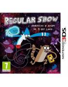 Regular Show Mordecai & Rigby in 8-bit Land 3DS