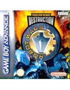 Robot Wars Advance Destruction Gameboy Advance
