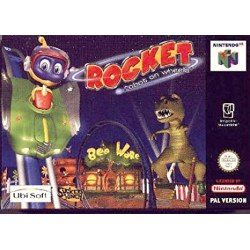 Rocket Robot on Wheels N64