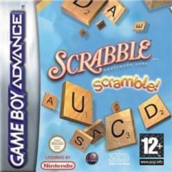Scrabble Scramble Gameboy Advance