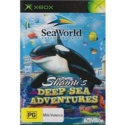 SeaWorld Adventure Parks: Shamu's Deep Sea Adventures Xbox Original
